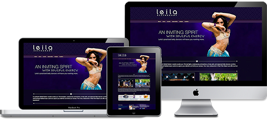 Leila Restaurant Website