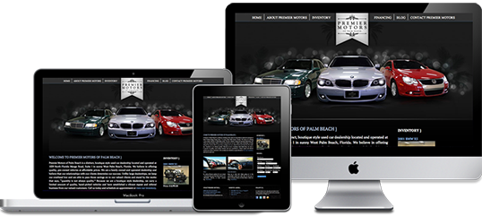 Premier Motors Website