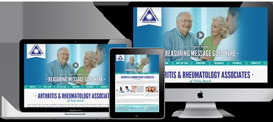 Medical Facility Website Design