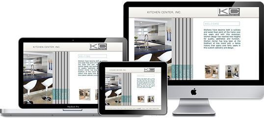 Kitchen Center Website Design