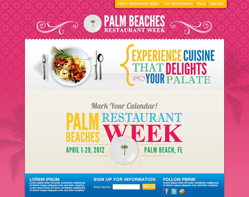 Palm Beach Restaurant Week