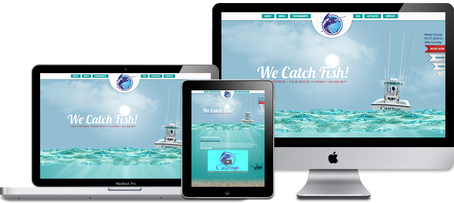 Fish Casting Website