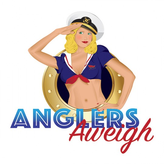 Anglers Away Logo Design
