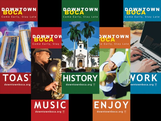 Boca Raton City Banners