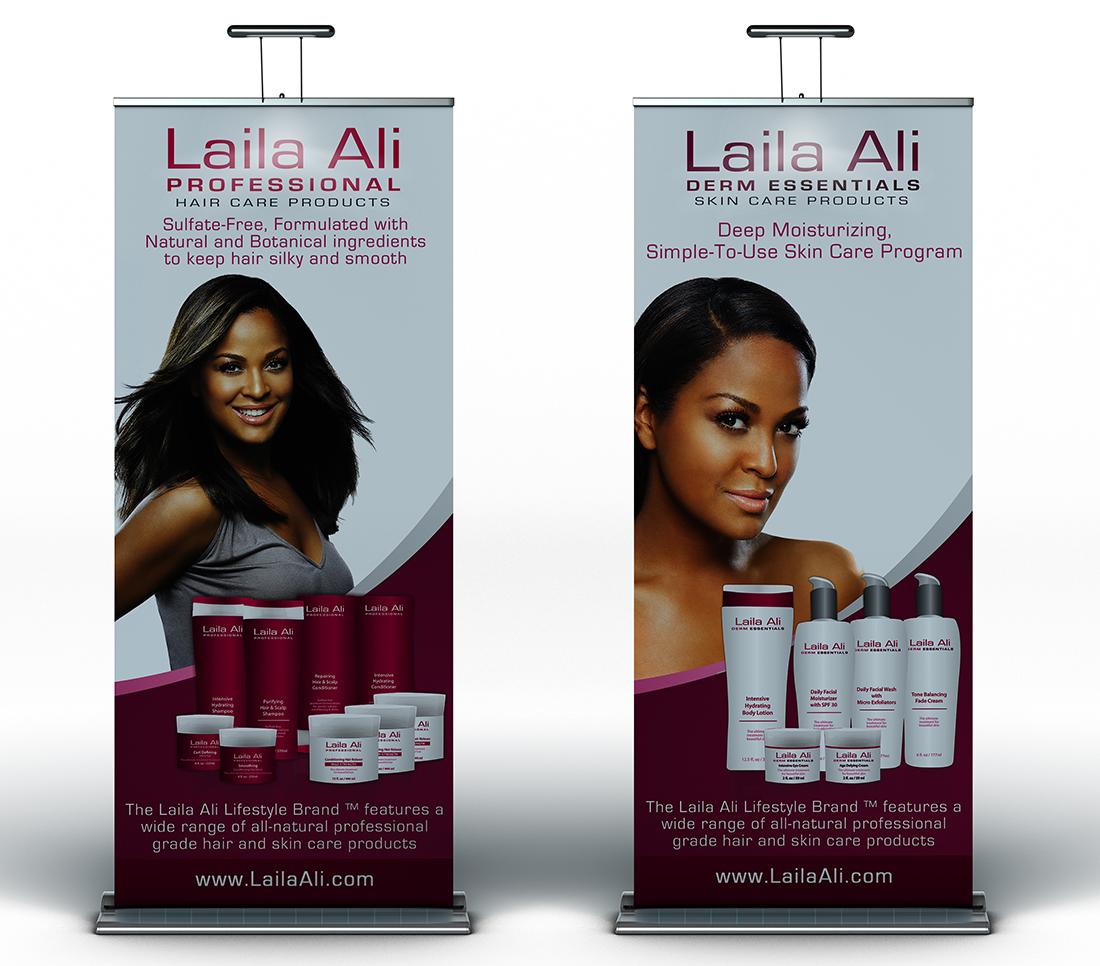 Banner Design Laila Ali
