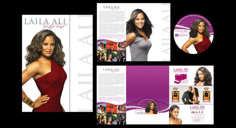 Press Kit Design Laila Ali